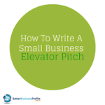 How To Write The Perfect Elevator Pitch